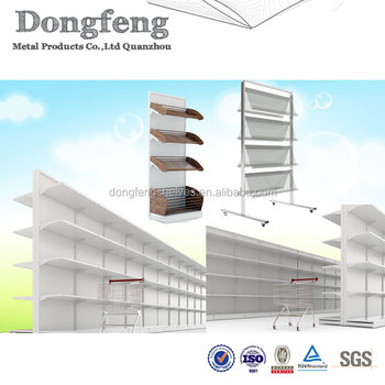 Multifunction Metal Bookstore Display Shelves For Retail Stores