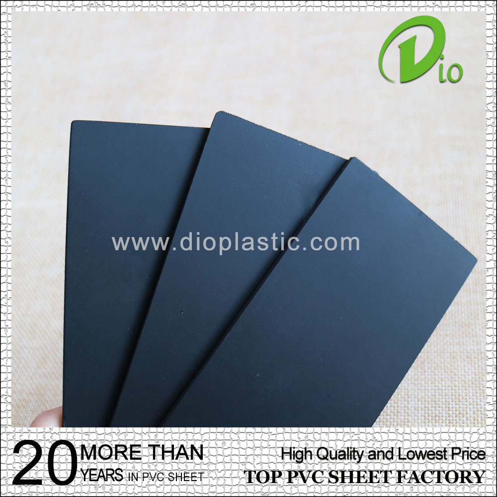 0.5mm 1mm high quality rigid self adhesive pvc sheet for photo album