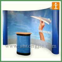 magnetic pop up display stand banner stands