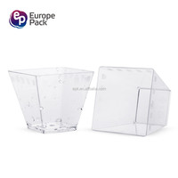 Epk 2016 clear plastic disposable 60ml raw materials for disposable plastic ice cream cup