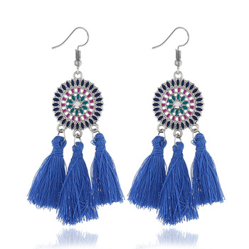 weave earrings tassel ethnic earrings