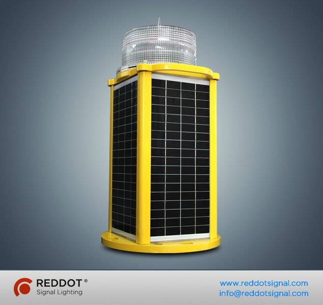 OLIS50 LED Solar powered mining obstruction light