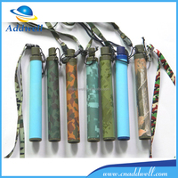 Free of bacteria virus heavy metal outdoor portable mini water filter