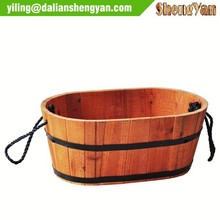 Chinese cedar wholesale flower pot, planter
