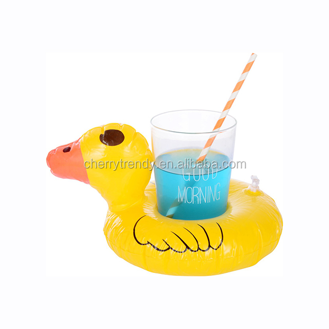 Inflatable Crab Mini Pool Float Toys Drink Holder Cup Holder