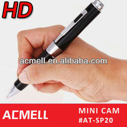 720P HD Video Record / Audio Recorder pen microphone with camera