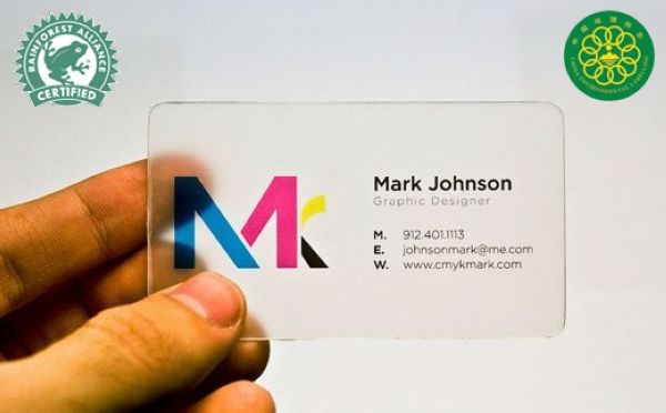 Pvc/plastic Business Card Printing