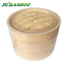 10 inch kitchenware bamboo steamer with color box