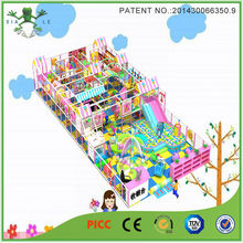 Beauty Design Funny Indoor Playground Naughty Fort For Baby Play Gym