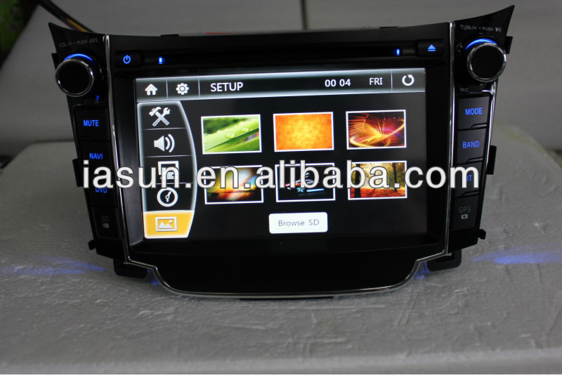 Android HD radio digital con ipod para Hyundai I30 2013 suzuki swift car dvd gps navigation system