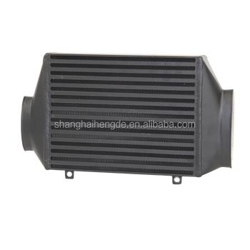 Black for BMW MINI COOPER S R53 02-06 TOP MOUNT INTERCOOLER