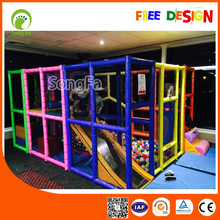 Colorful Kids Indoor Mobile Digital Playground