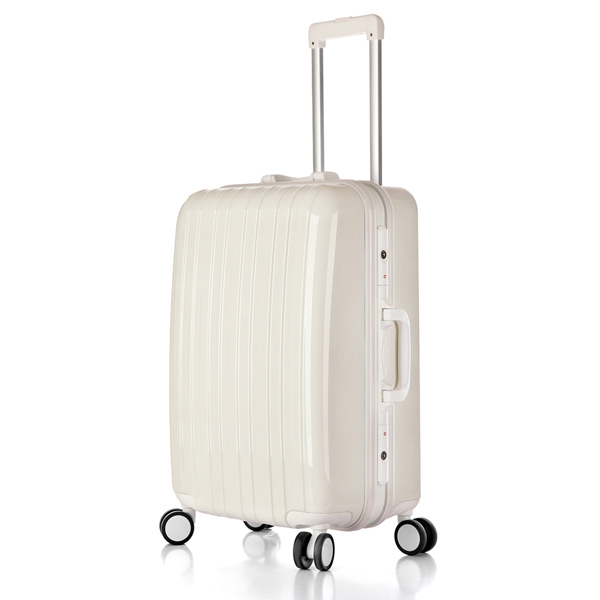 Aluminum mental suitcase, carry-on luggage, stylish design Discount trolley bag