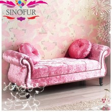 Made from SinoFur puff sofa