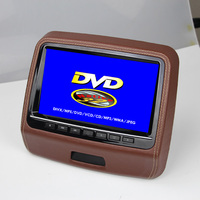 9 inch car headrest monitor dvd player with sd usb dvd
