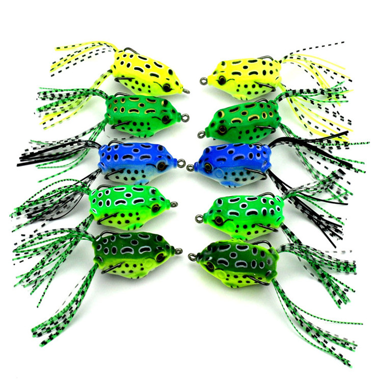 Soft Artificial Fishing Lure Bait Frog Lure Molds