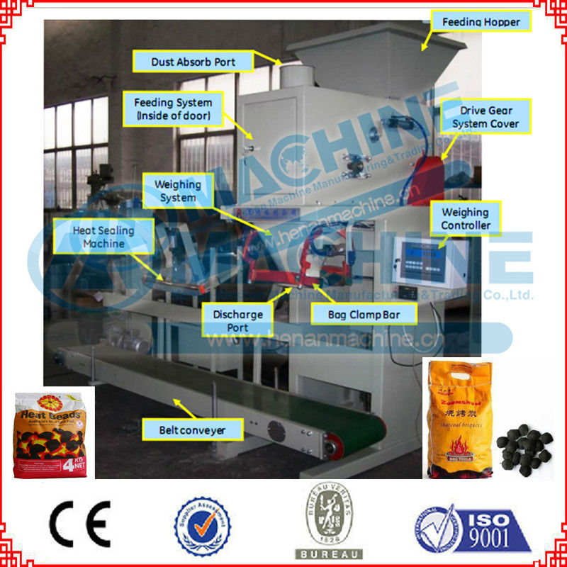 Automatic coal packing machine approved by CE