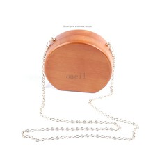 2018 Wholesale Personalized Wooden Handle Shopping Bag Latest Design Fashion wooden round handle bag