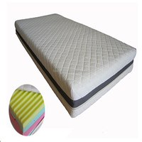 Slow rebound foam hospital mattress for hotel home bedroom used
