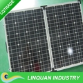 60W foldable solar panel with corner protection for 12V battery