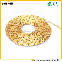 fashion jewelry accessories 2.0mm gold plated stainless steel ball chain