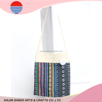 Cotton shopping bag tote factory sale high quality handle bag TC16-25