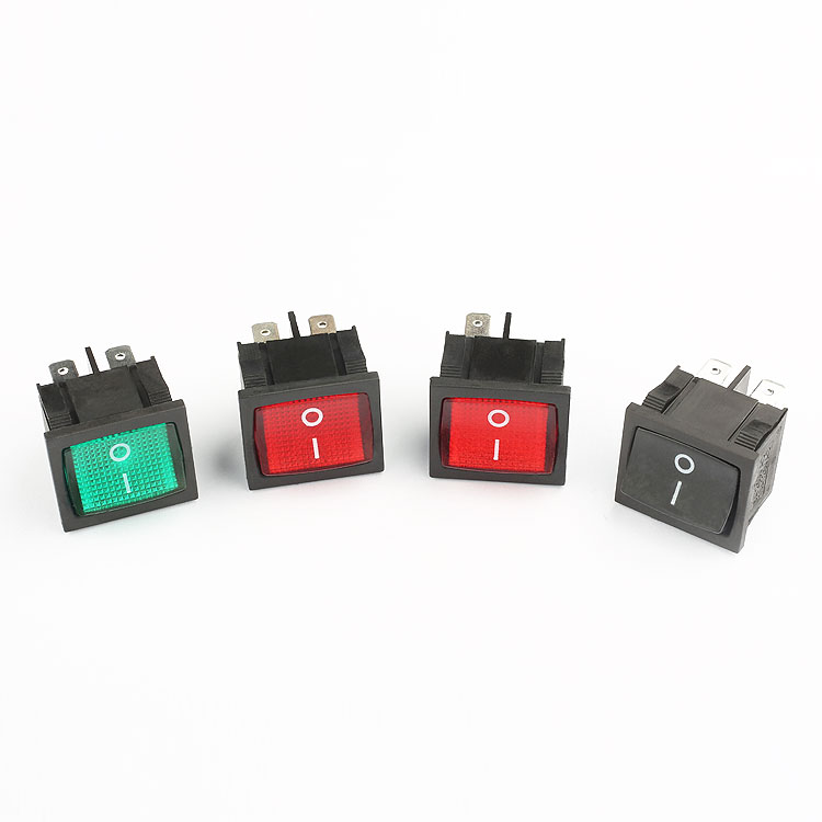 Different Models 6 pin push button switch damp voltage 12 volt push button switch kcd5 switch