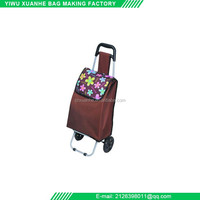 Fashion 600D Polyester Market Cart Bags Shopping Trolley Bag