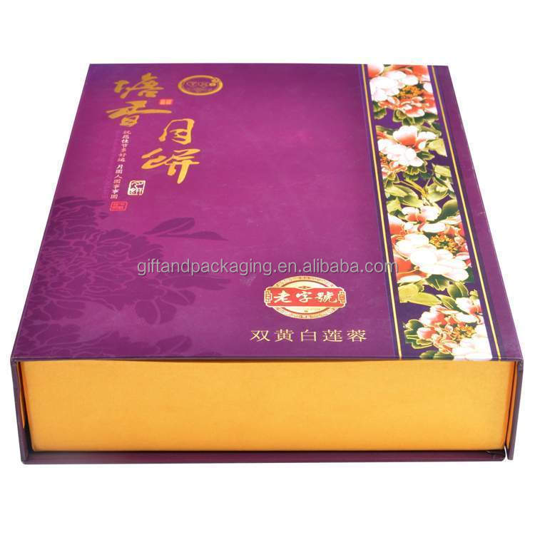 2016 gourmet cake box packaging with low price