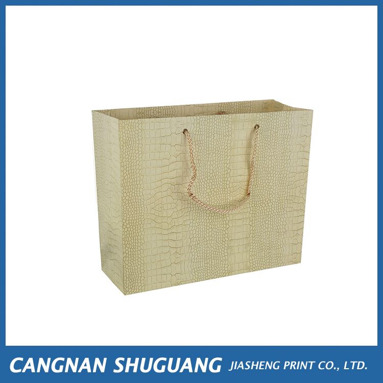 High end super quality bulk customized paper gift bag