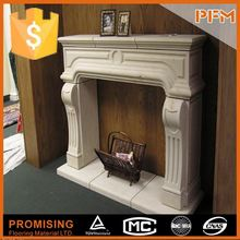 natural marble hand made electric fireplace marble tops