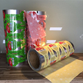 Double drawing foil pouch packaging roll film