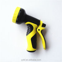 Lawn Garden 9 Pattern Hose Spray Nozzle Water Spray Gun