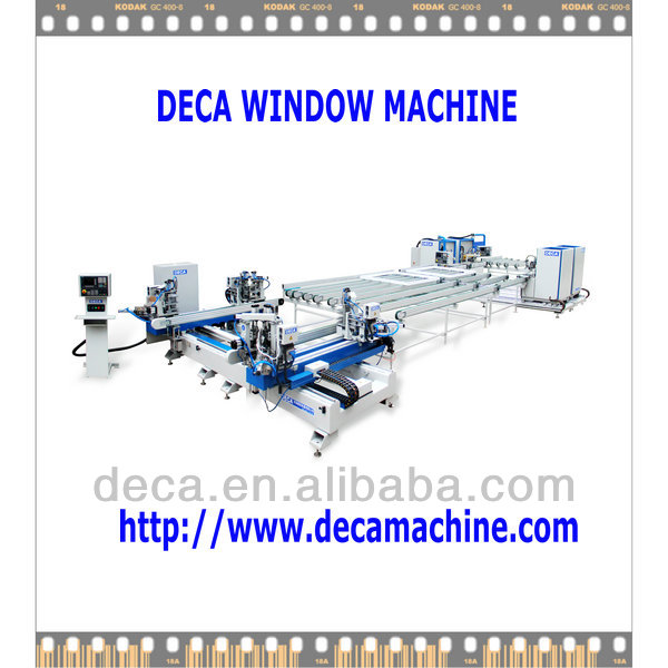 Window and door Auto Production Line/ Welding Cleaning Production Line AWCL-400