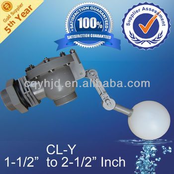 Water Tank Float Valve With Double Angle Axel