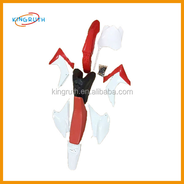 motorcycle plastic body kit/crf plastics