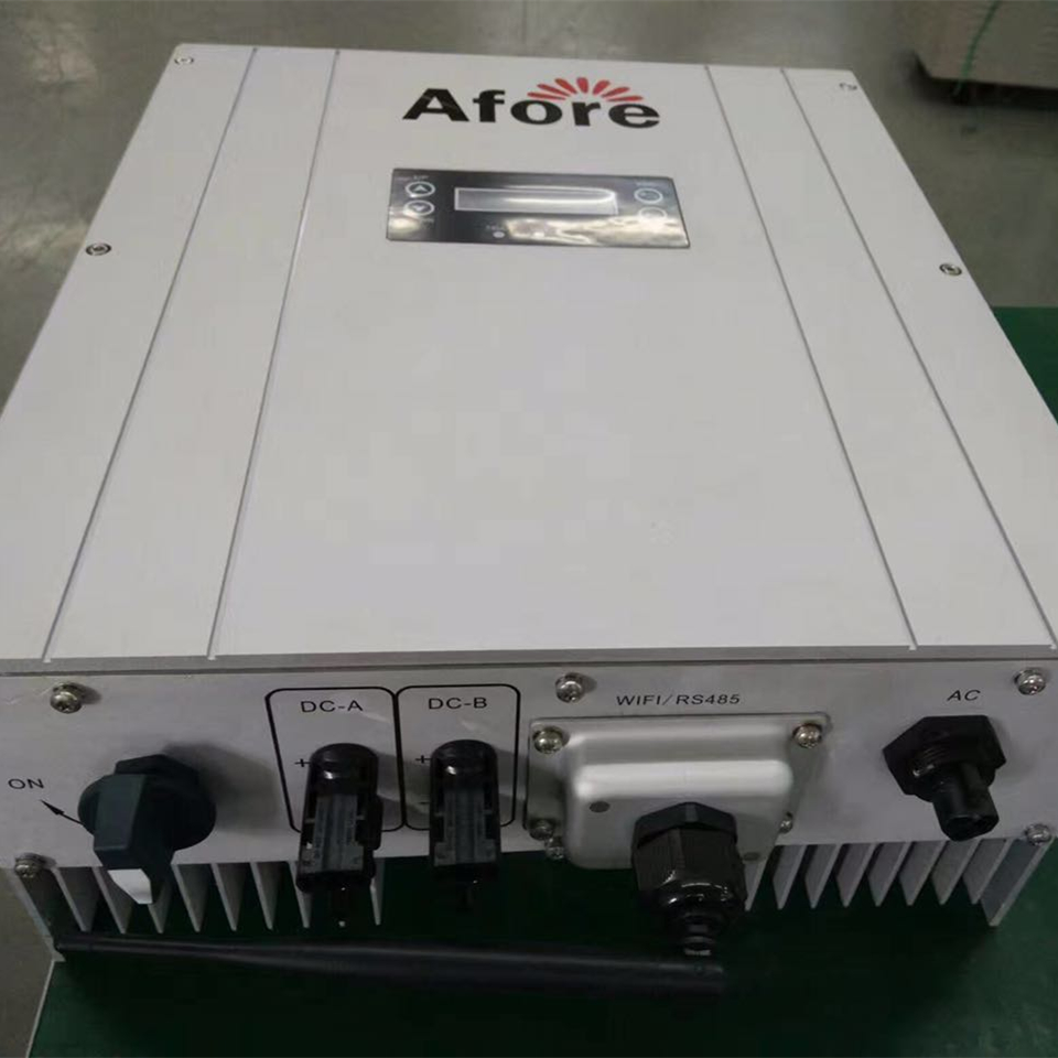 2019 new Afore on grid inverter 5KW for <strong>solar</strong> on grid system