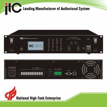 ITC t-67120 series ip amplifier,pa system ip network amplifier,professional digital pa ip amplifier