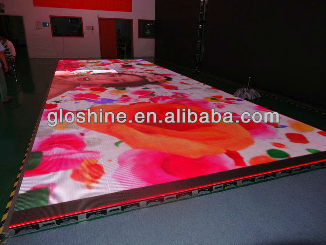 2013 led dance Floor P8 rental led screen Curtain video xxx photos china