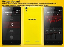 2015Newest! Lenovo K3 Music Lemon 5 Inch MSM8916 Quad Core Android 4.4 IPS 1280X720 16GB ROM Dual Sim Mobile Phone 4G