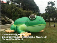 Factory outlet giant inflatable frog replica for advertiseiment at hot sale