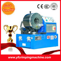 YJK-80 industrial hydraulic hose clamps making machine