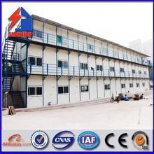 Beautiful and durable light steel frame house prefabricated modular home made in china