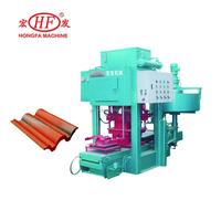 concrete roofing tile forming machine