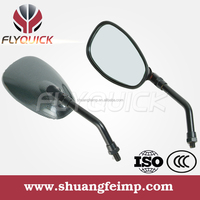 ZF001-95 FLYQUICK holesale - Motorcycle parts rearview mirror,China Motorcycle black plactic Mirror for haojue suzuki hj125k-2a