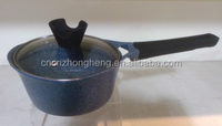 White ceramic Sauce Pan/ceramic Milk Pot