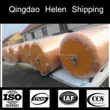 High quality and strength Protection equipment EVA ship and boat foam filled fenders
