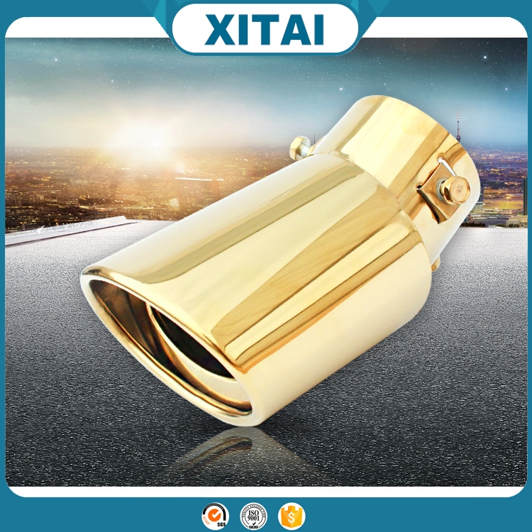 New design golden enameled car exhaust muffler with best quality