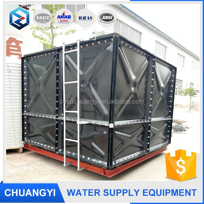 made in China first class quality enamelled panelized steel water tank