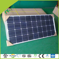 mono and poly solar panel with high efficiency 1W ~300W